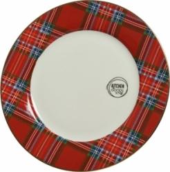 Piatto scozzese in porcellana 27 cm