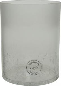 Vaso cilindrico trasparente