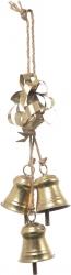 campanelle oro per decorazioni