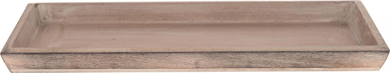 Vassoio rettangolare in legno