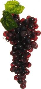 Grappolo d'uva rosso 15 cm