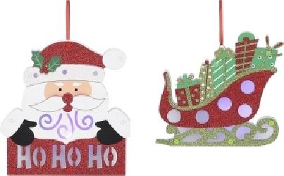 Soggetto natalizio pendente