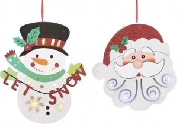 Personaggio natalizio pendente