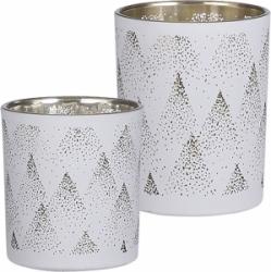 Porta tealight con decori traforati
