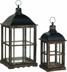 Lanterna in legno tetto alluminio