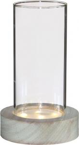 Vaso in vetro con led
