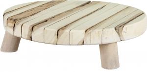 Tagliere tondo in legno 22cm