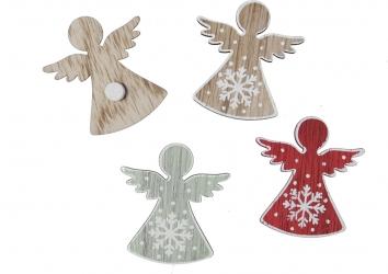 Angioletti in legno  (12 pezzi)