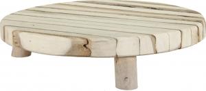 Tagliere tondo in legno 25cm