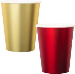 Bicchieri in carta satin in confezione da 8 pezzi