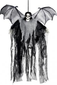 scheletro con pipistrello. Vendita all'ingrosso e online