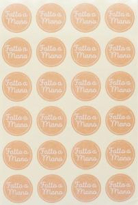 Etichette con scritta fatto a mano in confezione da 240 pezzi