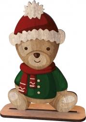 Sagoma orsetto in legno