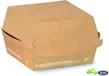 Porta panino e hamburger in cartone compostabile e personalizzabile - Ingrosso vendita online