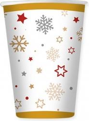 Bicchieri in cartoncino stars in confezione da 8 pezzi
