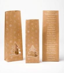 Buste in carta e polipropilene con soffietto in confezione da 50 pezzi
