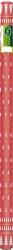 Tovaglia damascata con stampa abeti rosso