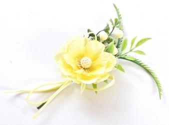 Pick con fiori per confezioni pasquali