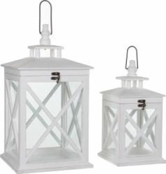 Lanterna decorativa bianca