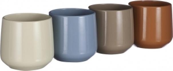Vasetto tondo colorato