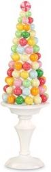 Albero con caramelle multicolore
