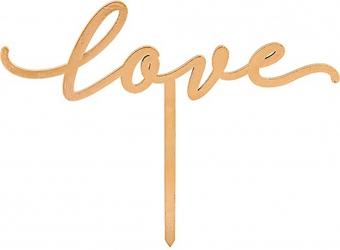 Stick love in legno (6 pezzi)