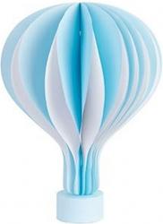 Mongolfiera con magnete e base azzurra 45cm