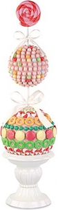 Albero con dolciumi multicolore