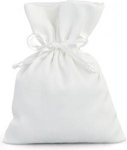 sacchetto portaconfetti con tirante in raso in confezione da 12 pezzi
