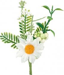 Pick margherita bianca 10cm (12 pezzi)