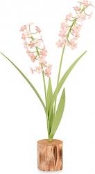 Fiore su tronco