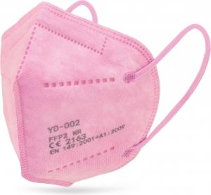 mascherina rosa