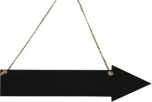 Lavagna con frecce direzionali