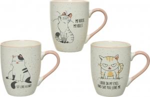 Mug in porcellana con stampa gatto