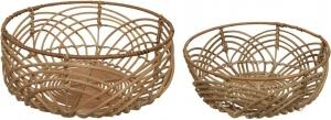 Bowl in rattan fatti a mano