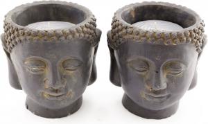 vaso buddha porta candela