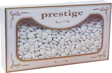 Confetti cuoriandoli al cioccolato bianchi