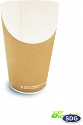 Cartone PORTA PATATINE compostabile delivery e take away vendita all'ingrosso b2b