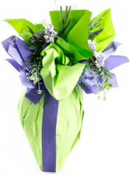 Carta polipropilene bicolor verde