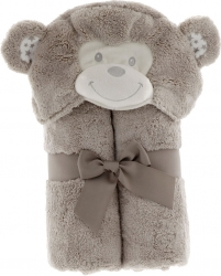 Accappatoio peluche baby animal
