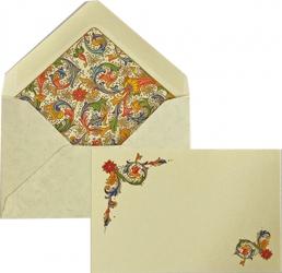 Cartoncini con buste florenza in confezione da 10 pezzi