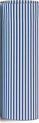 carta da regalo eco con righe blu in confezione da 25 fogli