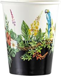 bicchieri carta tropical jungle in confezione da 8 pezzi
