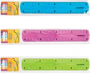 Righello flessibile, colori assortiti