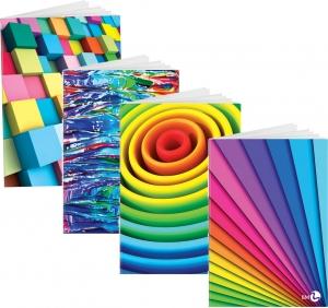 Maxi quaderno a quadretti Arcobaleno