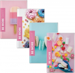 Maxi quaderno a righe Sweet