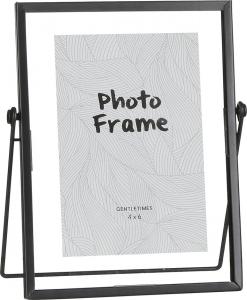 Portafoto in vetro e metallo