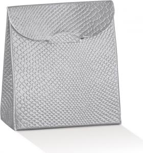 Scatola sacchetto skin argento