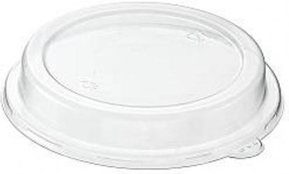 Coperchi in pet per ciotola in polpa bianca capacità 950ml confezioni da 50 pezzi take away green sostenibile