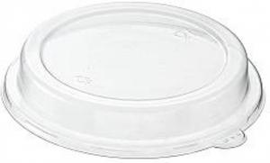 Coperchi in pet per ciotola in polpa bianca capacità 950ml confezioni da 50 pezzi take away green sostenibile ingrosso online
